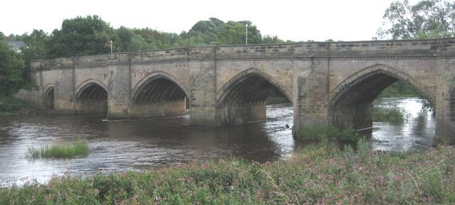 File:Croft-on-Tees Bridge - Geograph - 951332.jpg