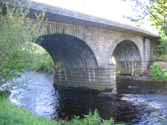 File:Bridge over the South Tyne at Alston - Geograph - 445388.jpg