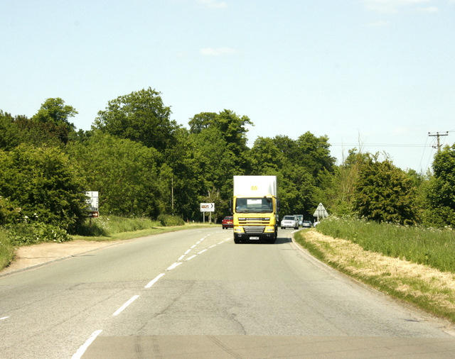 File:A46 at the Tormarton motorway interchange - Geograph - 1362221.jpg