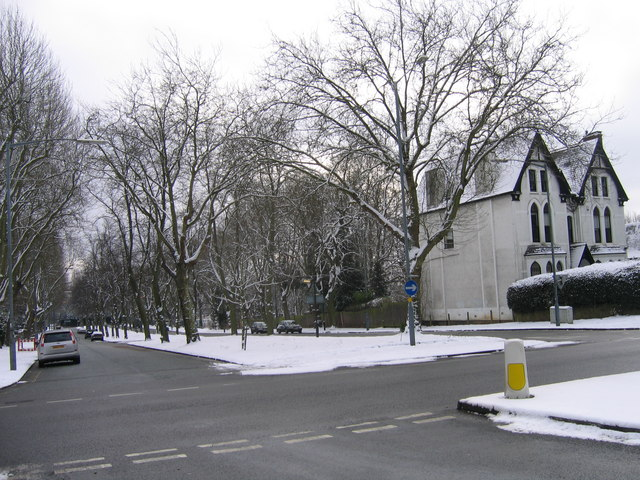 File:Pebble Mill Road junction with A38 Bristol Road - Geograph - 1145860.jpg