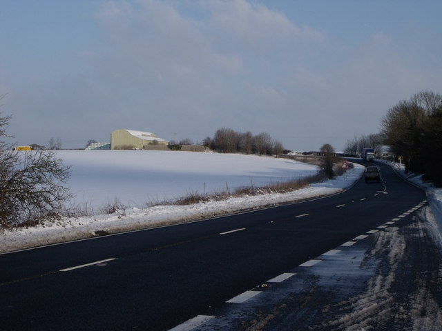 File:The A26 south of Bedingham, East Sussex - Geograph - 1659665.jpg
