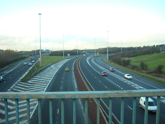File:Maryville Interchange - M73, M74 - Geograph - 106423.jpg