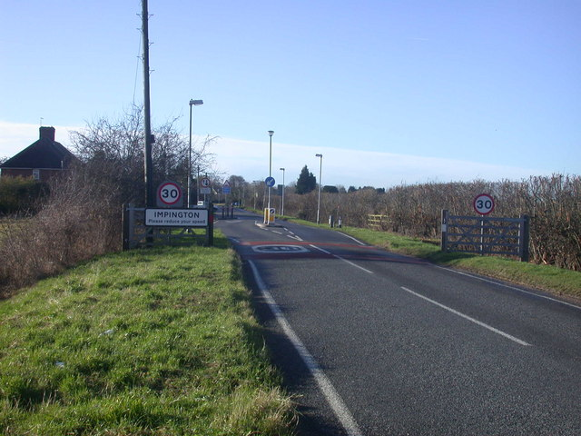 File:Impington - Please reduce your speed - Geograph - 660321.jpg