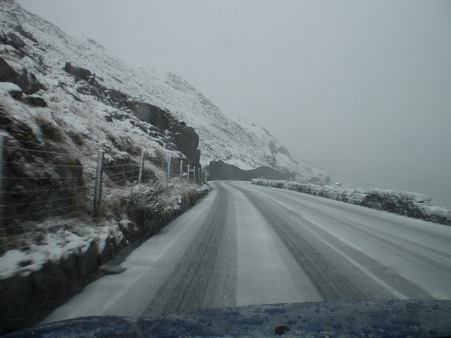 File:1st snow of winter Snowdonia - Geograph - 1194834.jpg