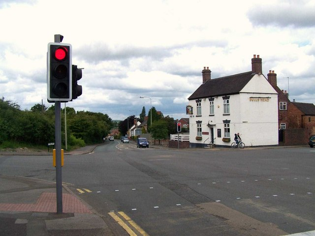 File:The Bull's Head, Two Gates - Geograph - 851543.jpg