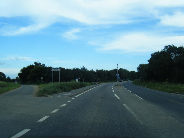 File:A259 near Colworth Farm (C) Colin Pyle - Geograph - 3120963.jpg