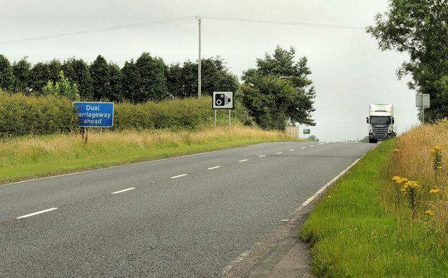 File:The Belfast Road near Larne (1) - Geograph - 3076773.jpg