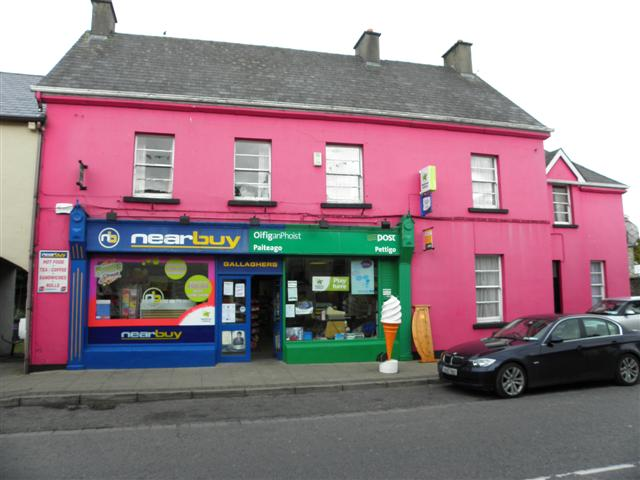 File:Gallagher's Shop and Pettigo Post Office - Geograph - 2072548.jpg