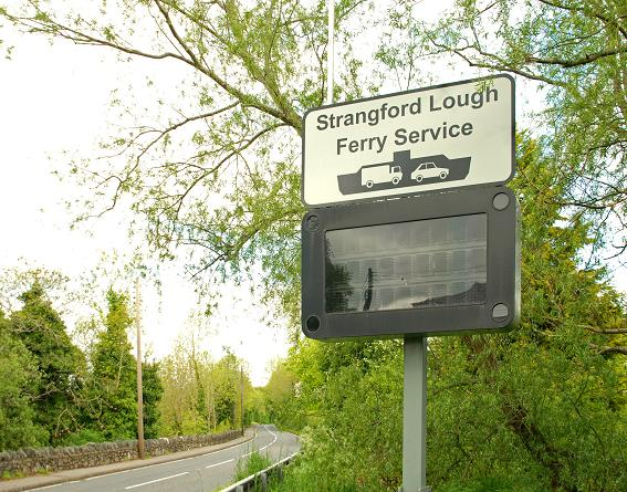 File:Ferry information sign near Downpatrick - Geograph - 1310001.jpg