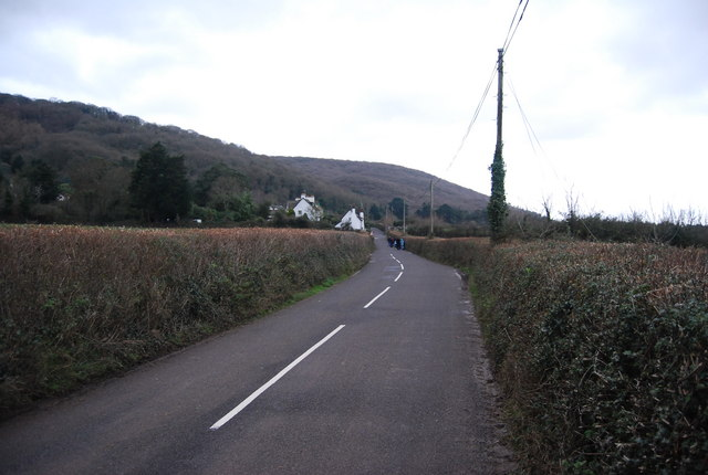 File:The road to Porlock Weir - Geograph - 1658899.jpg