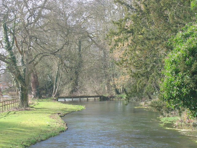 File:River Test at Wherwell - Geograph - 791564.jpg