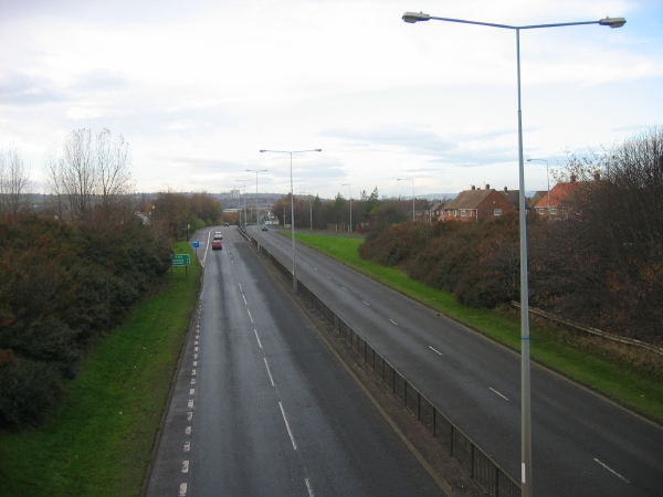 File:A184 near Wardley - Geograph - 1582413.jpg