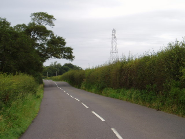 File:The B736 looking towards Castle Douglas - Geograph - 546414.jpg