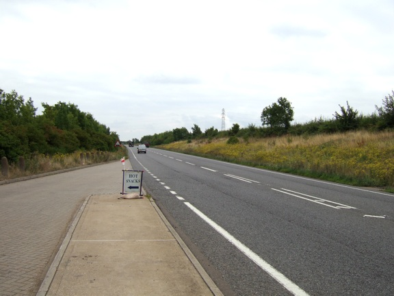 File:A505 and lay-by (C) Rob Farrow - Geograph - 219497.jpg