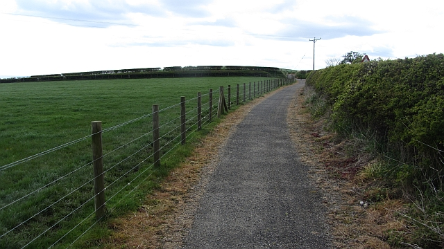 File:Cycle-foot path, A1086 - Geograph - 2955617.jpg