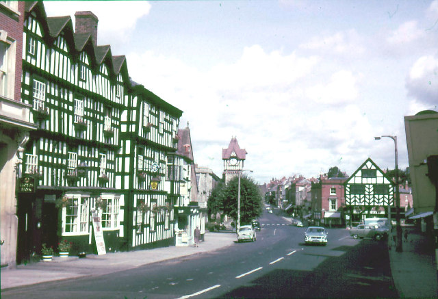 File:The Feathers Hotel, Ledbury (1965) - Geograph - 21429.jpg