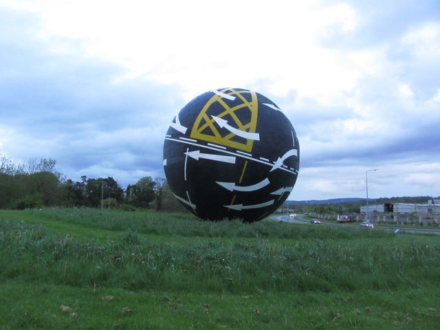 File:Naas Sphere - 'Perpetual Motion' by Jct 9 of the M7 - Geograph - 4638725.jpg