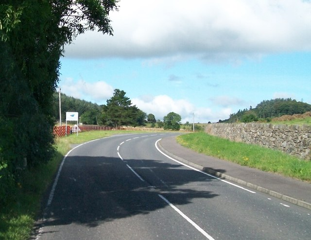 File:Approaching the Banbridge District Boundary on the Bann Road - Geograph - 4268571.jpg