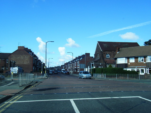 File:Gorsey Lane- Poulton Road junction (C) Colin Pyle - Geograph - 3139601.jpg