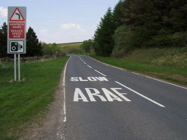 File:A4067 heading to Crai - Geograph - 1676548.jpg