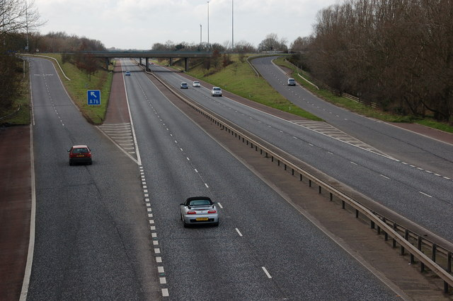 File:The M1 near Lurgan (2) - Geograph - 341400.jpg