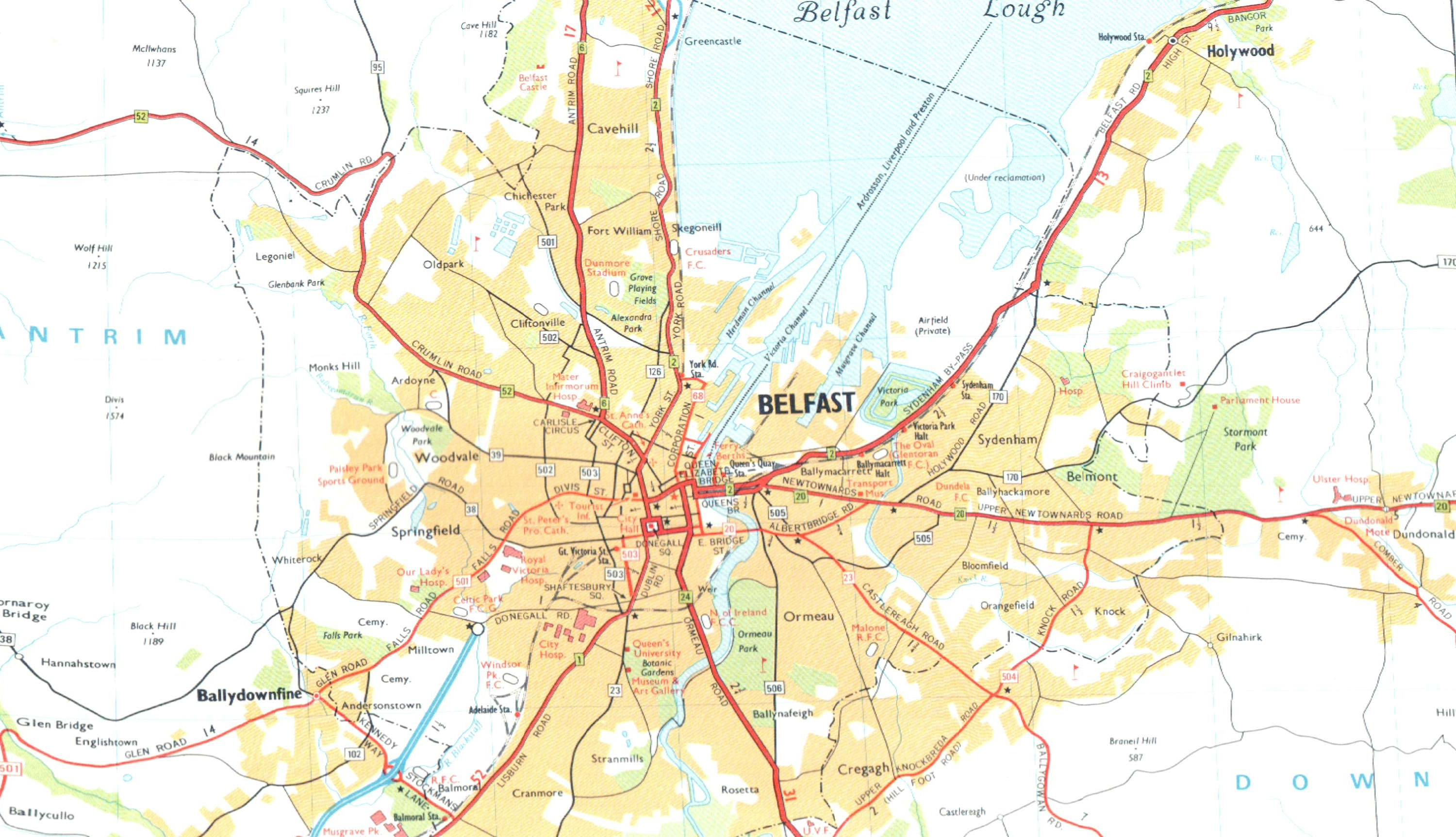 Download wallpaper high full HD » map of belfast | Full Wallpapers HOME