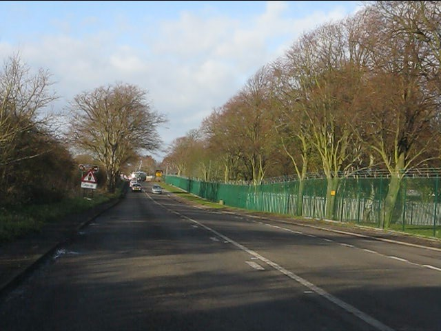 File:A51 at Whittington Barracks (C) Peter Whatley - Geograph - 2725827.jpg