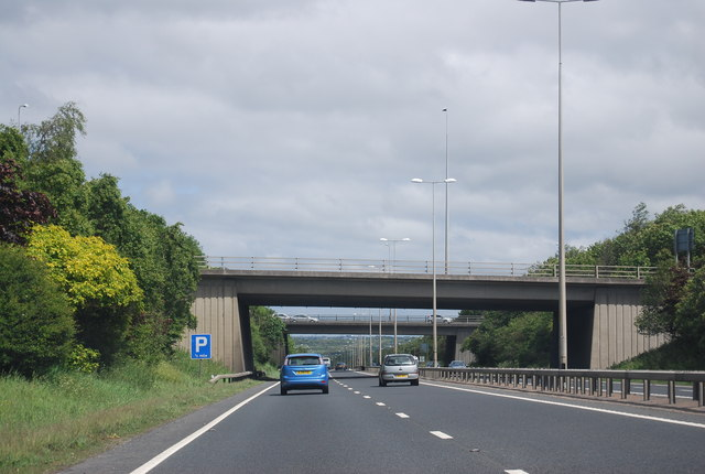 File:A1 - A696 - A167 junction - Geograph - 2578875.jpg