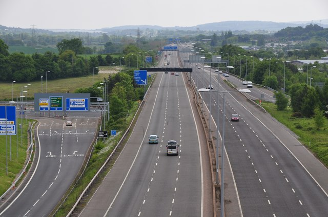 File:Exeter District - The M5 Motorway (C) Lewis Clarke - Geograph - 3490955.jpg