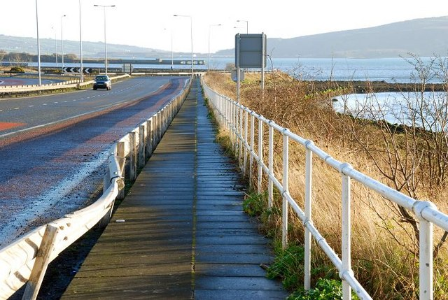 File:The Harbour Highway, Larne - Geograph - 650559.jpg