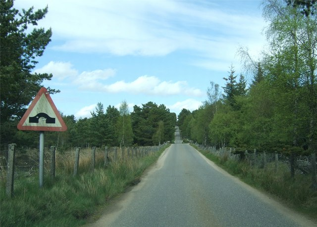 File:Approach to a bridge over Allt na Coille - Geograph - 443230.jpg