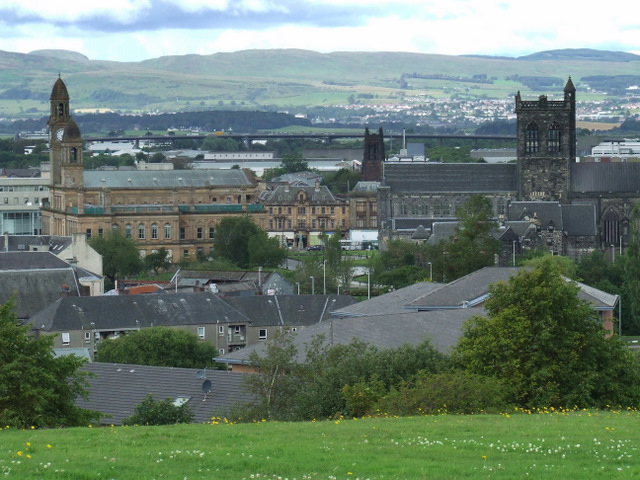 File:Paisley from Saucel Hill - Geograph - 2514689.jpg