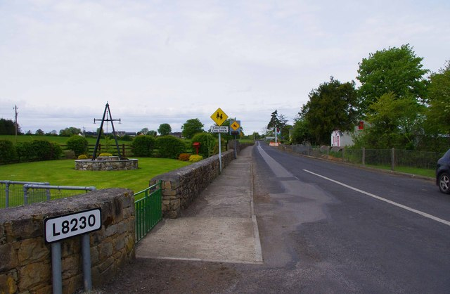 File:The L8230 road at Abbey, Co. Galway - Geograph - 3475748.jpg