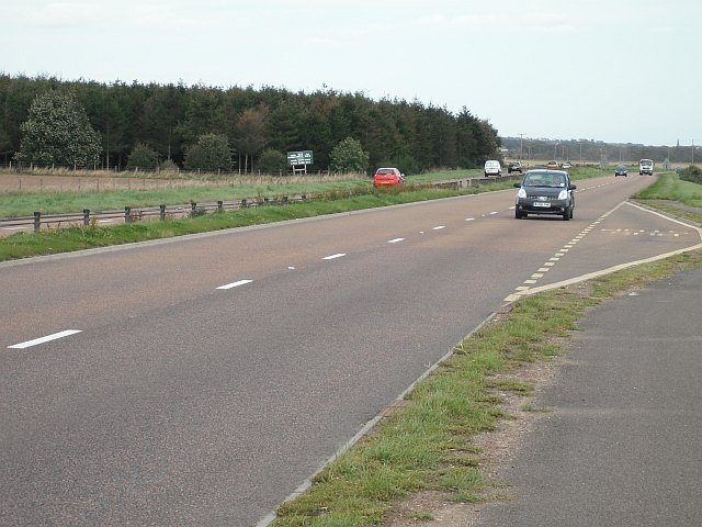File:A92, Three Mile Wood - Geograph - 1664077.jpg