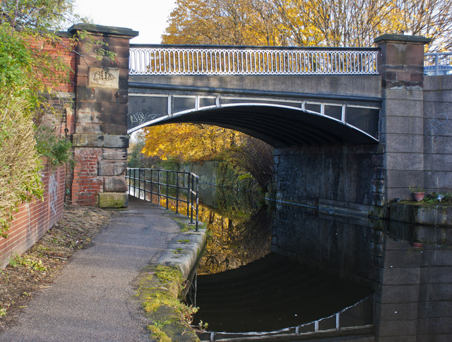 File:A bridge on the Bridgewater Canal at Runcorn - Geograph - 3218718.jpg