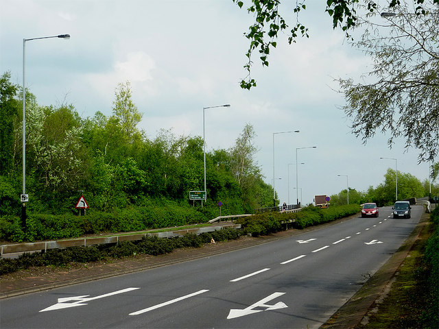 File:A463 Black Country Route at Spring Vale, Wolverhampton - Geograph - 3962337.jpg