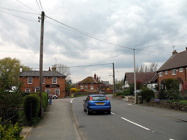 File:The Swan and two poles - Geograph - 400001.jpg