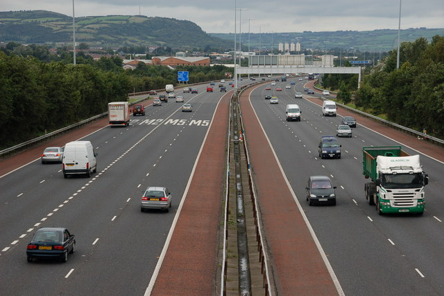 File:The M2 at Fortwilliam - Geograph - 272921.jpg