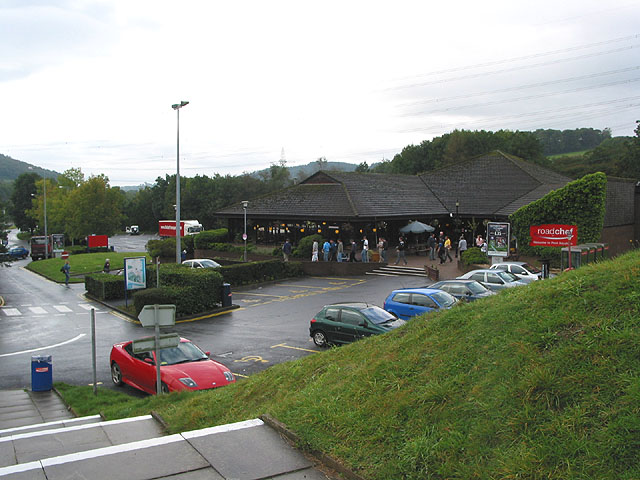 File:Pont Abraham Services - Geograph - 573375.jpg