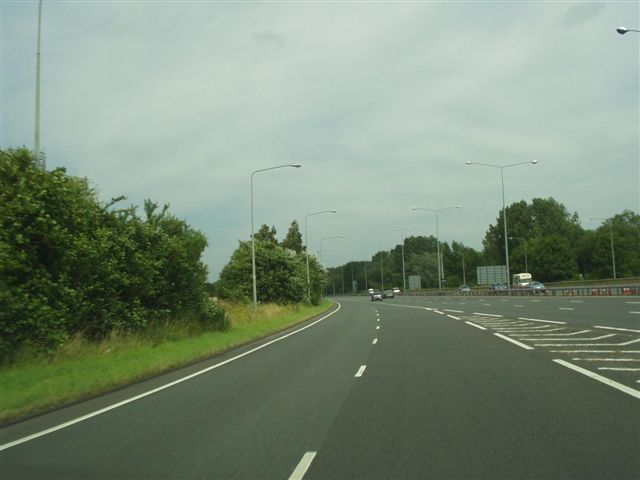 File:A444 North East Bound On Slip From A45 Festival Island Coventry - Coppermine - 18961.jpg
