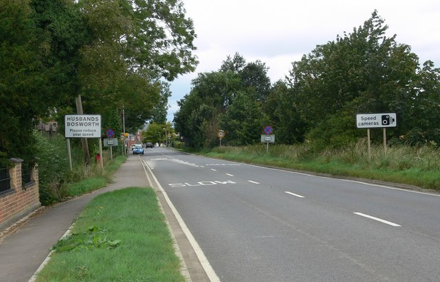 File:Welford Road towards Husbands Bosworth - Geograph - 546848.jpg