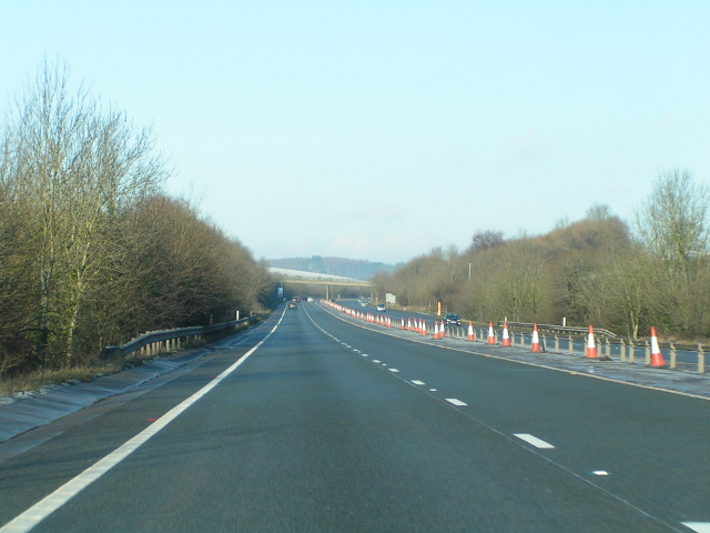 File:Heading north on the A449 - Geograph - 1635890.jpg
