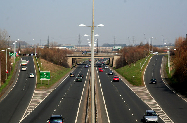 File:A1 Newcastle Western Bypass - Geograph - 1213717.jpg