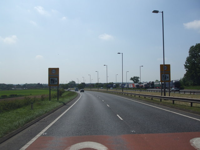 File:A1 Southbound - Geograph - 1327133.jpg