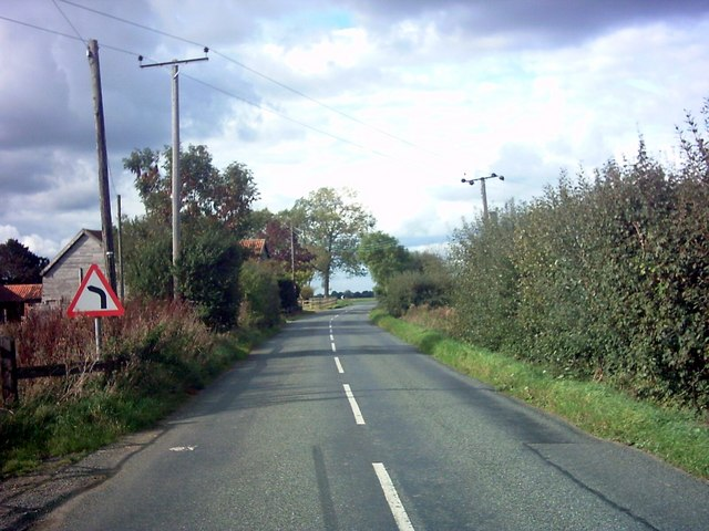 File:The B1117 near St.Jacob's Hall - Geograph - 253501.jpg