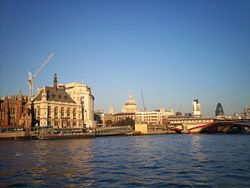 Some of London's Landmarks from a boat.jpg