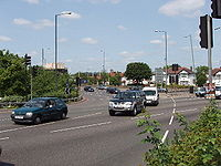 Hanger Lane Gyratory on the North Circular - Geograph - 16150.jpg