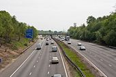 Approaching M3 junction 12 - Geograph - 795208.jpg
