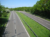 A414 North Orbital Road near St Albans 2.jpg