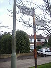 Old fingerpost A319 Chobham - Coppermine - 21531.JPG